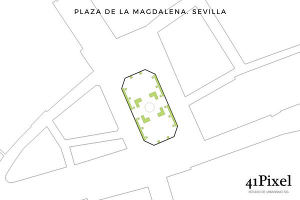 Plaza de la Magdalena de Sevilla
