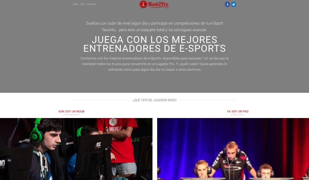 Diseño de página web, Noob2Pro